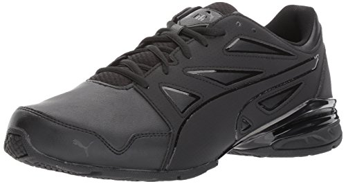 PUMA Men's Tazon Modern Fracture Sneaker, Black, 9 M US