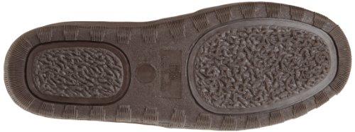 Slip Mens Printed Eric LUKS Slipper Chocolate Suede Gore MUK On Berber DBL wp8R5