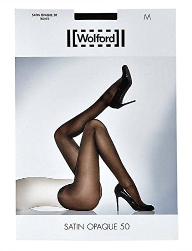 WOLFORD Satin Opaque 50 Tights 18379 (Extra Small, Coca) -