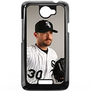 MLB&HTC One X Black Chicago White Sox Gift Holiday Christmas Gifts cell phone cases clear phone cases protectivefashion cell phone cases HABC605584496