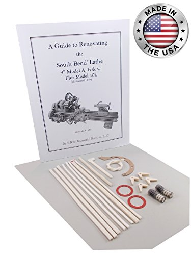 South Bend Lathe Rebuild Kit - 9'' Model A, B & C by ILION Industrial Services LLC
