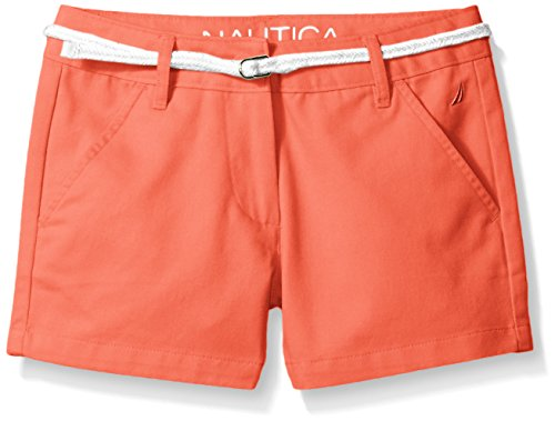 nautica-big-girls-woven-short-with-belt-neon-coral-7