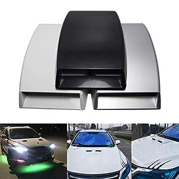 cofano Symboat Car-Styling Adesivo universale per auto Air Flow Intake Scoop Turbo