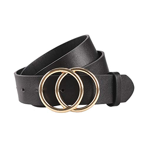 Price comparison product image Women's Belts Genuine Leather Fashion Luxury Designer Belt for Jeans Dress