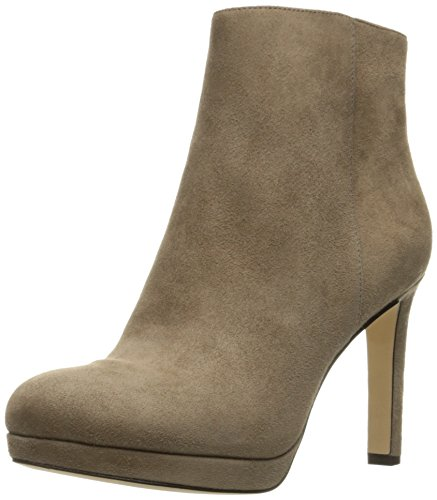 Via Spiga Womens Bettie Ankle Bootie Dark Taupe