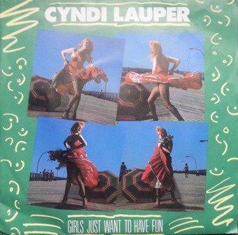 Girls just want to have fun (1983) / Vinyl Maxi Single [Vinyl 12'']