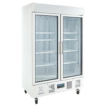 Polar Cd984 Glas Double Door Display Kuhlschrank 944 L Amazon De