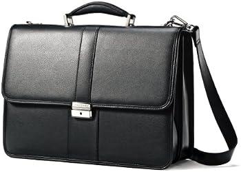 Samsonite Leather Flapover Case
