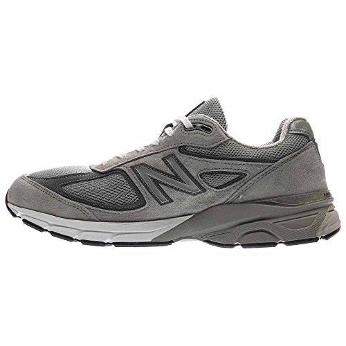 New Balance Mens 990v4 Running Shoe Grey / Castlerock