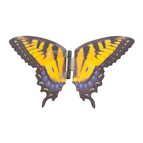 f2ac05fa0bf27 Science Purchase Animated Butterfly in a Jar Yellow Swallowtail Figurine