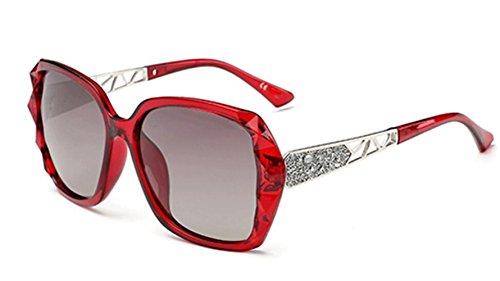 Party Gafas De Sol Big Face Biker Beach Lady De Fashion Gafas Red Sol z0qYFY