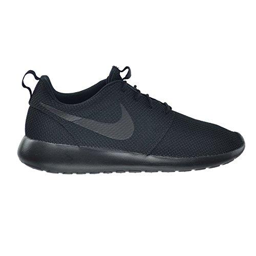 Nike Men's Roshe One Running Shoes, Black/Black, 8.5 M US