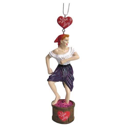 - Kurt Adler Lucy Stomping Grapes Ornament Standard