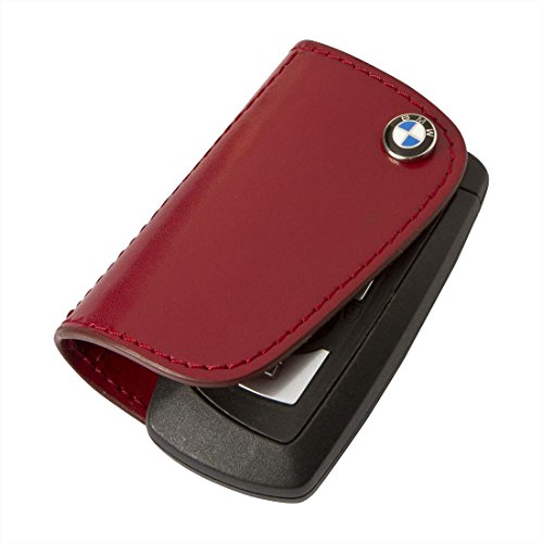 BMW Leather Key Cases Red