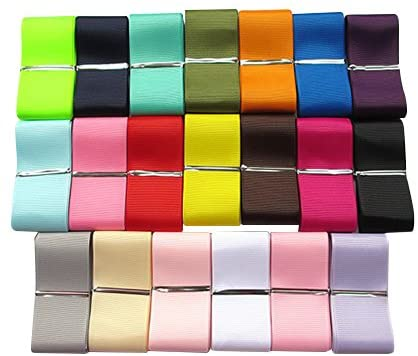 10mm GROSGRAIN RIBBON 37  COLOURS  GROSS GRAIN CHEAPEST ON