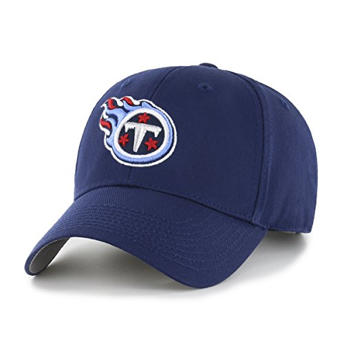 NFL Tennessee Titans OTS All-Star MVP Adjustable Hat, Light Navy, One Size