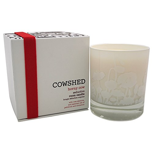 Cowshed Horny Cow Seductive Room Candle for Women, 8.27 Ounce