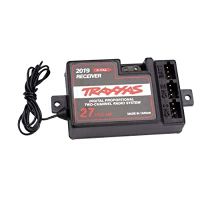 Traxxas 2020 2-Channel 27Mhz Receiver without BEC: Toys & Games
