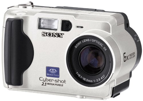 Sony DSC-S50 2MP Cyber-shot Digital Camera with 3x Optical Zoom