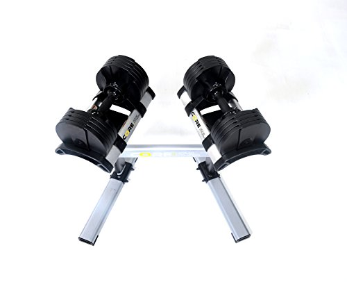 Core Home Fitness Adjustable Dumbbell Set & Stand By Space Saver - Dumbbells For Your Home - Weights - by Core Home Fitness (Image #2)