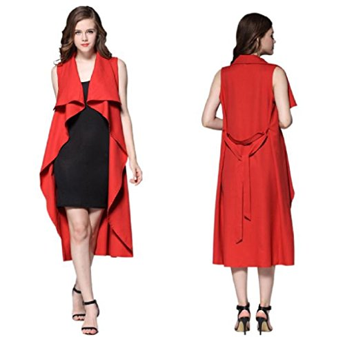 gillberry-women-solid-color-windbreaker-sleeveless-coat-polyester-jacket-l-red
