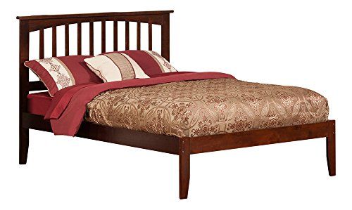 Atlantic Furniture Mission Full Platform Bed with Open Foot