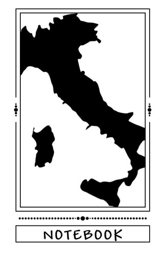 NOTEBOOK - Italy map pdf
