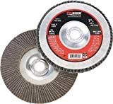 Firepower 1423-2221 Type 29 Zirconia Flap Disc with Hub, 60 Grit, 4-1/2-Inch x 5/8-Inch
