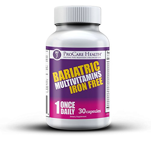 ProCare Health Bariatric MultiVitamin Iron Free- 30ct Capsule On