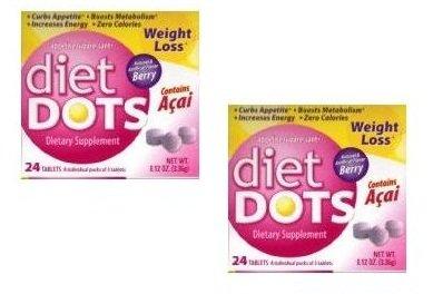 Les points de régime alimentaire de perte de poids avec Acai supplément - Saveur de Berry (2 PACK SPECIAL) (APPÉTIT BORDURES, stimule le métabolisme)