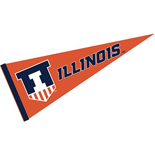 College Flags and Banners Co. Illinois Fighting Illini Victory Badge Pennant