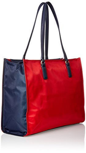Beach Womens Cb Canvas Sq Corporate Tote Tommy Poppy Tote and Hilfiger Bag Cb Multicolour q5O8YpO