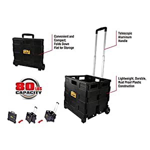 Olympia Tool 85-010 Grand Pack-N-Roll Portable Tool Carrier, Black
