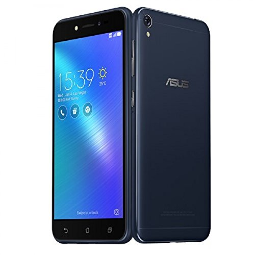 ASUS ZenFone Live ZB501KL 16GB ROM 2GB RAM 5.0-Inch 13MP 4G LTE Dual SIM FACTORY UNLOCKED International Stock No Warranty (Black)