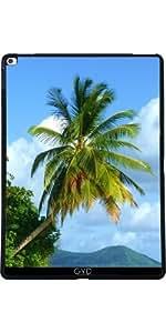Funda para Apple Ipad Pro 13 pulgadas - Palmera En La Playa Tropical by BluedarkArt