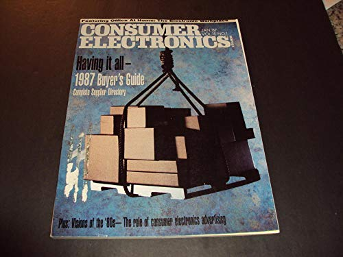 - Consumer Electronics Jan 1987 1987 Buyer's Guide, Complete Directory
