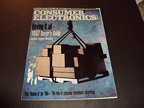 Consumer Electronics Jan 1987 1987 Buyer