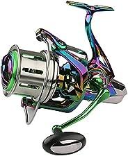 Peahog Fishing Reel High Performance Spinning Reel Labor-Saving Baitcasting Reels for Saltwater or Freshwater