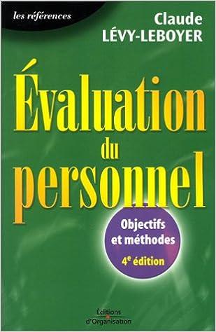 Lire un Evaluation du personnel : Objectifs et méthodes pdf, epub ebook