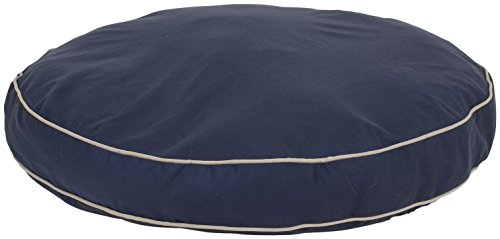 - Cpc Classic Cotton/Twill Round-A-Bout Bed for Pets, 27-Inch, Blue