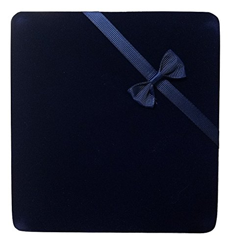 - JM Future Gift Box for Jewelry, Necklace, Earring and Bracelet, X-Large, Navy