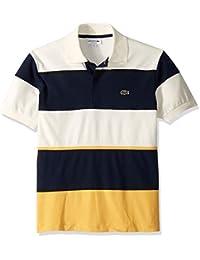 Men's S/S Technical Pique Colorblock Polo
