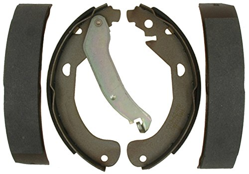 ACDelco 14795B Advantage Bonded Rear Brake Shoe Set with Lever