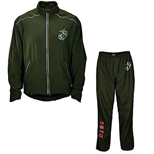 check out d6f7b 940d2 New Balance US Marine Corps Running Tracksuit Jacket/Pants