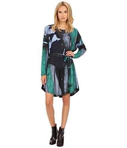 (Vivienne Westwood Women's Manifestation Dress Green/Black 40 (US 4))