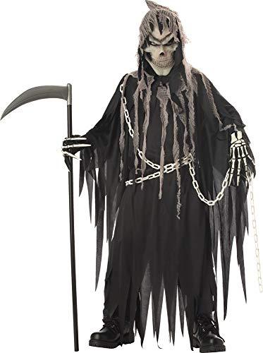 SALES4YA Boys Mr Grim Kids Costume Large 10-12 Boys -