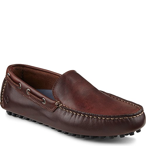Sperry Top-Sider Men's Hamilton Venetian Slip-On Loafer, Amaretto, 10 M US
