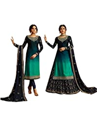 STELLACOUTURE Eid Special Ethnic wear Indian/Pakistani Salwar Kameez with Lehenga Suit for Women 3002