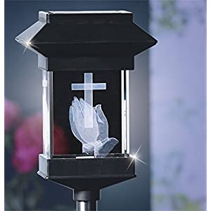 14'' Solar LED Memorial 3D Crystal Light 12