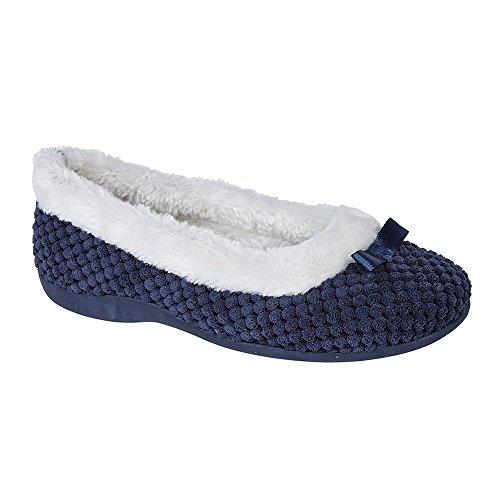Karina Sintetico Donna Con Pellicciotto Foam Pantofole Nero E Sleepers Memory q0pwqB